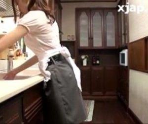 Big Tits Julia Masturbates on Kitchen - xjap.pe.hu - 19 min