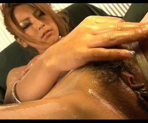 Horny asian gets wet with sex toy - 5 min