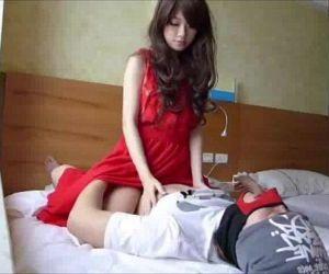 妖娆的红衣美女,大é•..