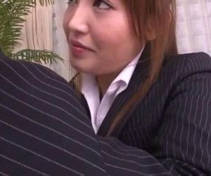 Mami Asakura office adventure with her boss - 12 min
