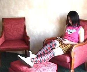 019 Spanking On Sisters Knee - 5 min