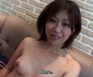 Subtitled uncensored Japanese Osaka amateur blowjob in HD..