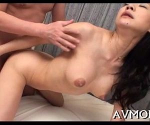 Sexy oriental mom strip tease - 5 min