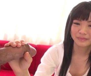 Moka Minaduki gets cum on face after a good blowjob - 12 min