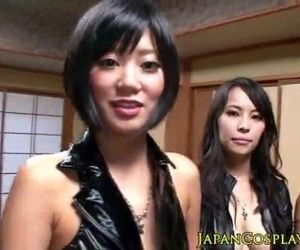 Asian cosplay ho squirts across the room full video:..