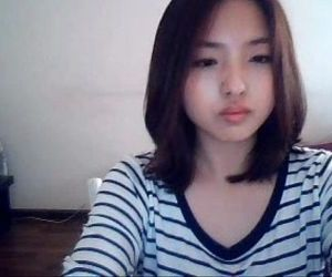 Korean innocent teen shows everything on private camshow -..