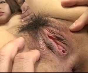 Toa enjoys two males to fuck her in threesome - 12 min