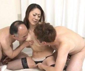 Ruri Hayami girls in stockings fucking hard - 12 min