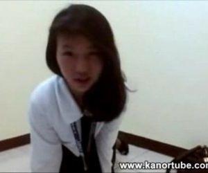 Cute Student Screwdriver Scandal - www.kanortube.com - 25..