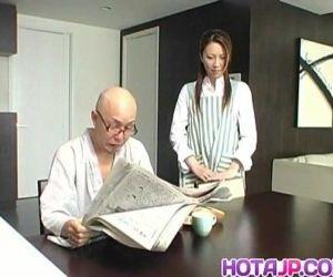 Tomoe Hinatsu rides boner - 10 min