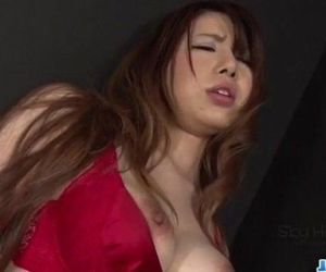 Reika Ichinose lingerie babe deals tasty dick on cam - 12..