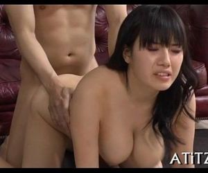 Wicked toying with breasty japanese - 5 min