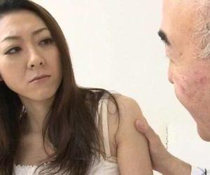 Ruri Hayami young doll meets senior cock - 12 min