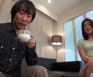 Marina Matsumoto gets fucked until a huge creampie end -..