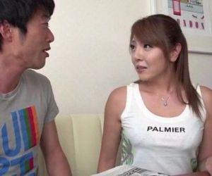 Chieri Matsunaga loves it deep in her hairy vagina - 12 min