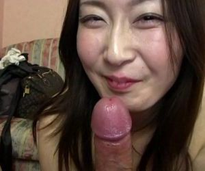 Subtitled Japanese gravure model hopeful POV blowjob in HD..