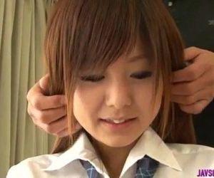 Miku Airi crazy schoolgirl Japanese porn special - 8 min