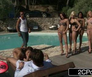 French BJ Roulette Bibi Noel, Blanche, Katia De Lys,..