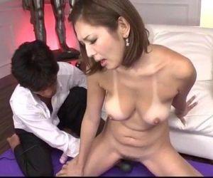 Strong hardcore play along sweet Mai Kuroki - 12 min