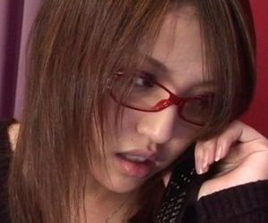 Cute Rino Mizusawa enjoys her new toy inside the pussy -..