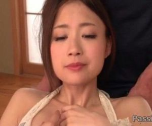 Mayuka Akimoto needs cock in each of her tight holes - 5 min