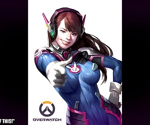Overwatch D.Va Hentai Slideshow